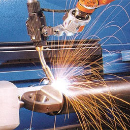 proximity sensors in welding machine