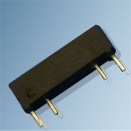 Reed sensor with integrated resistor