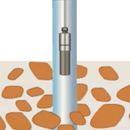 Deep bore reed switch probe
