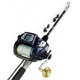 Reed switch usage in electric fishing reel
