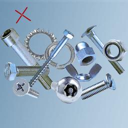 Ferromagnetic parts