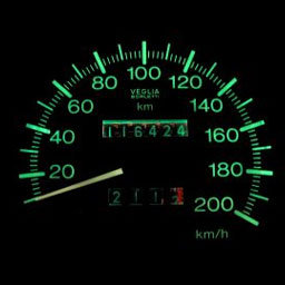 Speedometer pulse counting